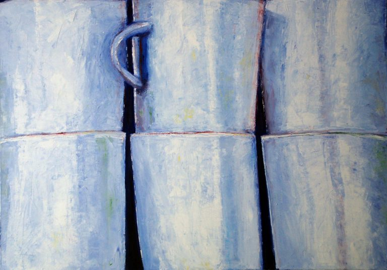 blaue tassen neu groß